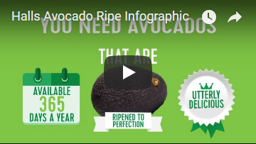 Halls RIPE Range of Avocado