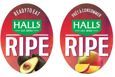 Halls RIPE Sticker